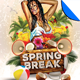 Spring Break Flyer Template Vol. 1 - GraphicRiver Item for Sale