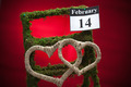 February 14 Valentines day - red heart - PhotoDune Item for Sale