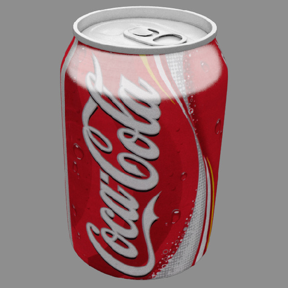 3DOcean Coca Cola Can 10393201
