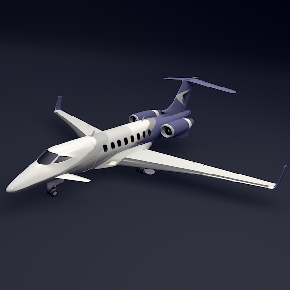 3DOcean Business jet concept 10393689