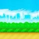 Tillable Parallax Game Background