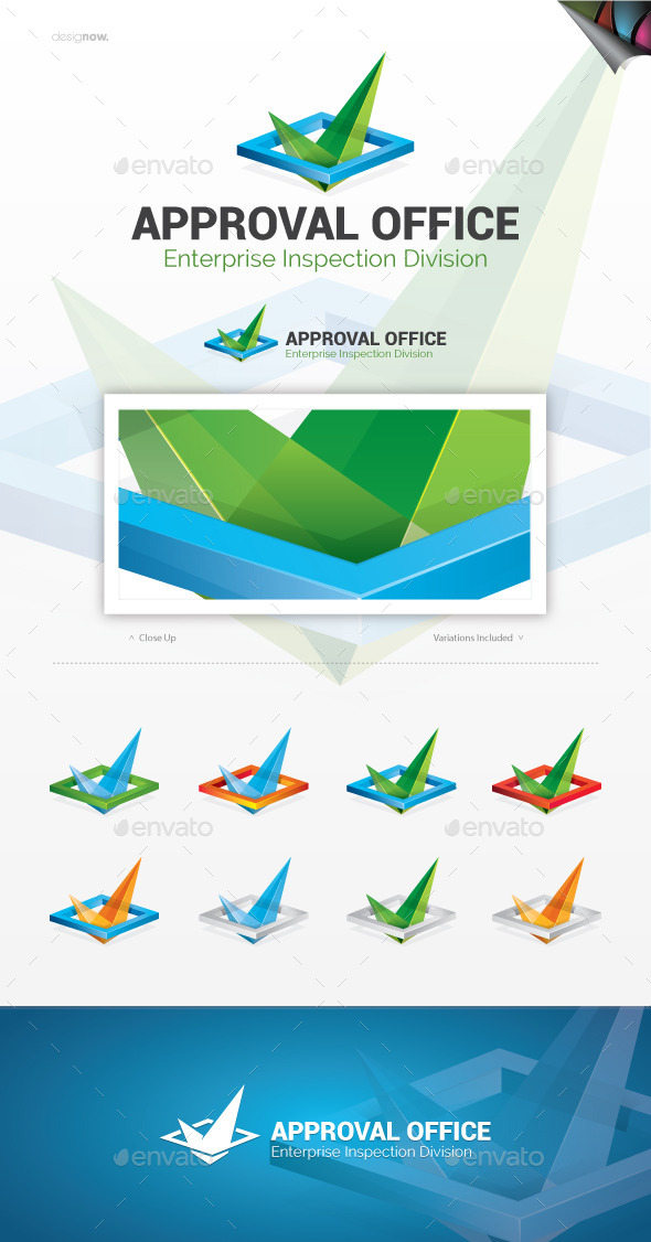 GraphicRiver Approval Office Logo 10393923