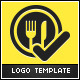 Food Check Logo Template