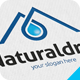 Natural Drop Logo - GraphicRiver Item for Sale