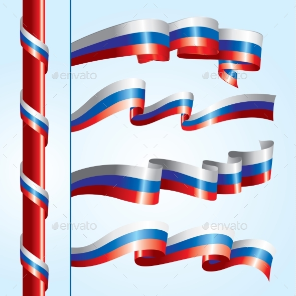 GraphicRiver Russian Flags 10394225