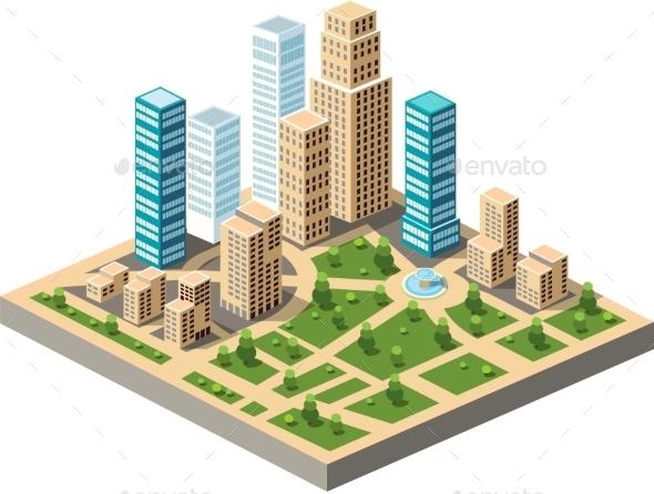 GraphicRiver City Center 10394452