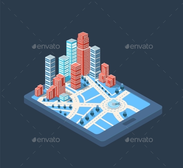 GraphicRiver Big City 10394744