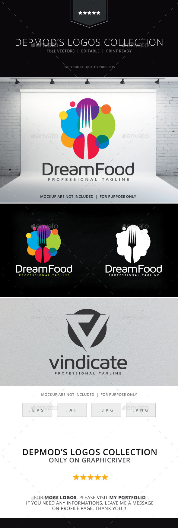 GraphicRiver Dream Food Logo 10395358