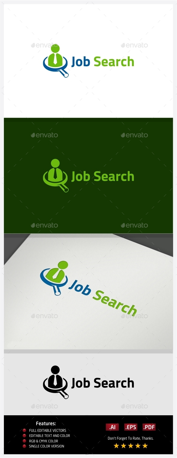 GraphicRiver Job Search Logo 10395565
