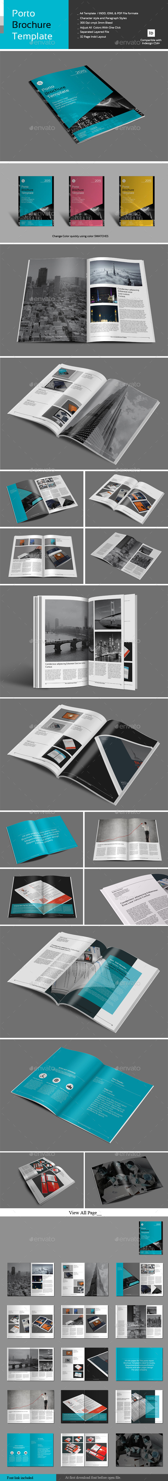 GraphicRiver Porto Brochure Template 10395566