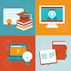 Online Education Concepts - GraphicRiver Item for Sale