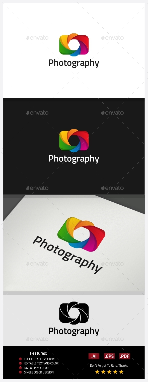 GraphicRiver Photography Logo 10395818