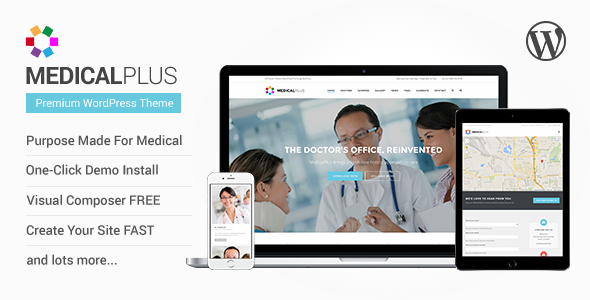 ThemeForest MedicalPlus Health and Medical WordPress Theme 10172673