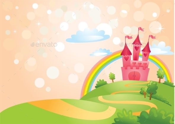 GraphicRiver Fairy Tale Castle 10396525