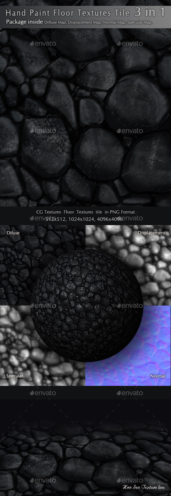 3DOcean Floor Texture F1 3 in 1 10396905