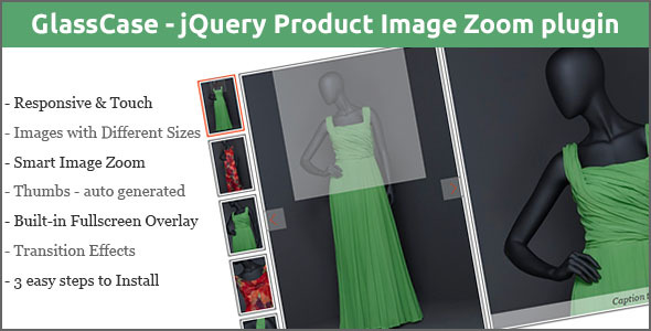 GlassCase - jQuery Product Image Zoom plugin