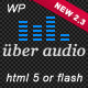 Uber Audio Wordpress plugin - CodeCanyon Item for Sale