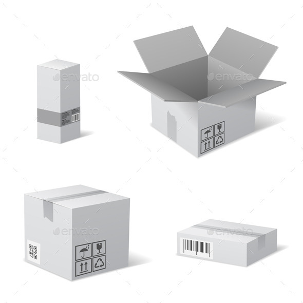GraphicRiver Packaging Boxes 10397725