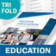 Education Trifold Brochure - GraphicRiver Item for Sale