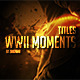 WWII Moments Titles - VideoHive Item for Sale