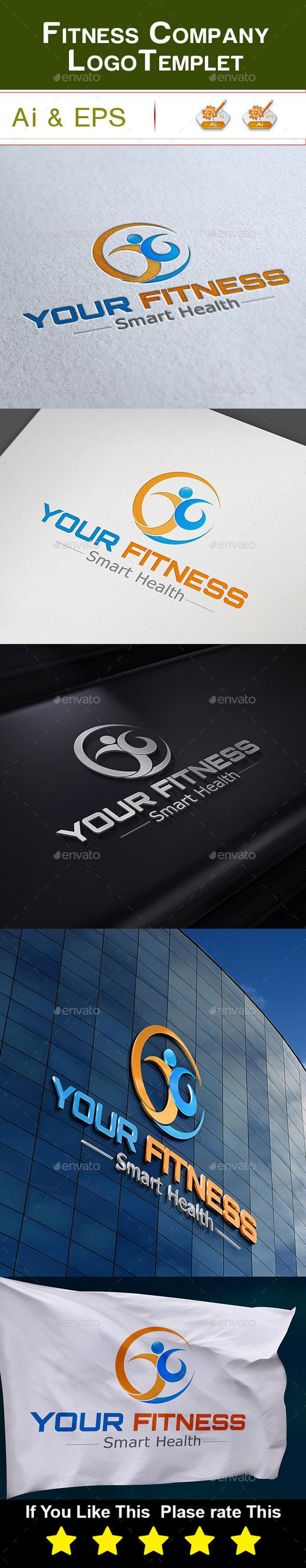 GraphicRiver Fitness Company Logo 10343376