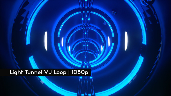 Light Tunnel VJ Loop