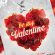 Be My Valentines Party Day Flyer Template - GraphicRiver Item for Sale