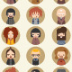 15 Flat Design Avatar Set - GraphicRiver Item for Sale