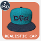 Realistic Baseball Cap Mock-Up Vol 2 - GraphicRiver Item for Sale