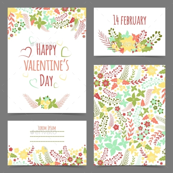 GraphicRiver Valentine s Card 10399238