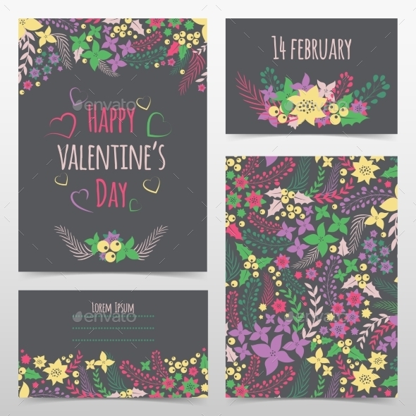 GraphicRiver Valentine s Card 10399243