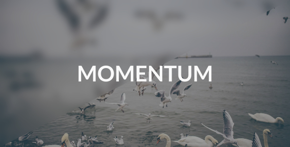 ThemeForest Momentum Ghost Blog with Masonry Layout 10264945