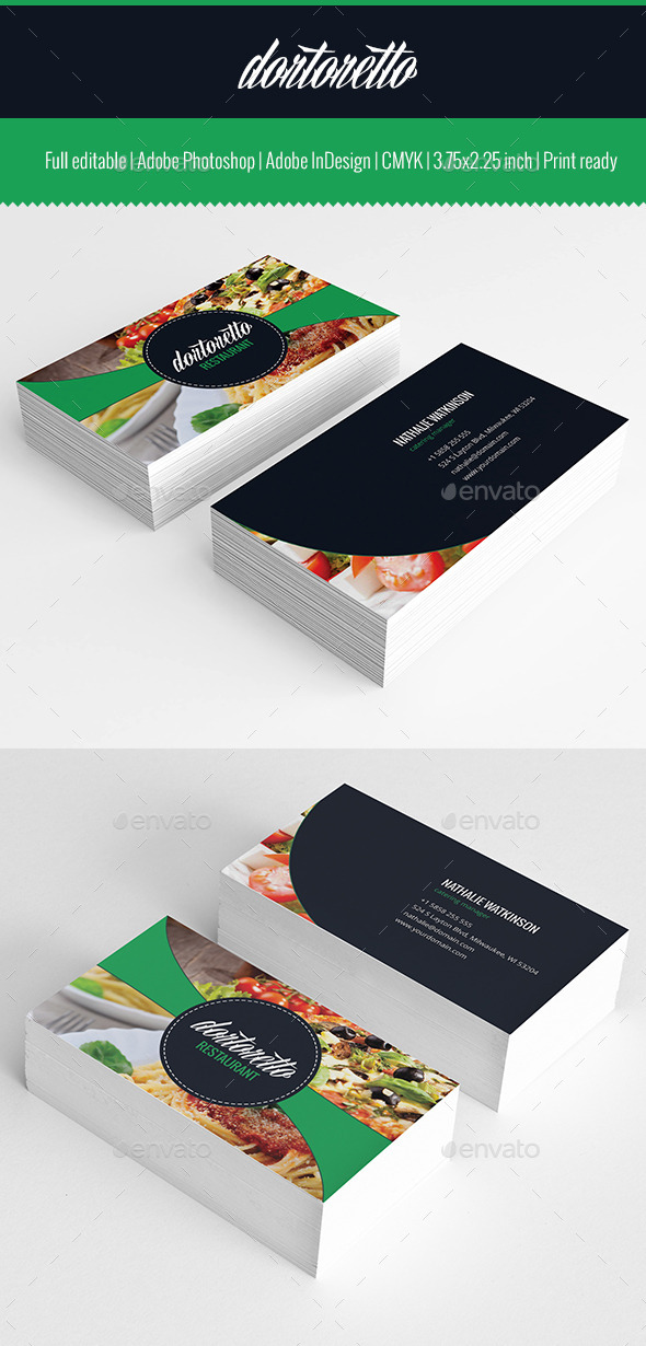 GraphicRiver Dortoretto Business Card v2 10399335