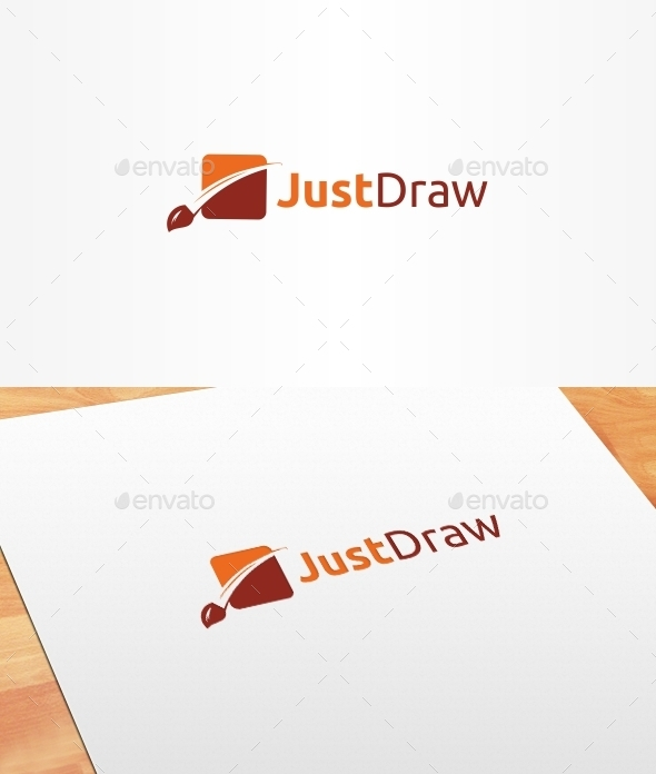 GraphicRiver Just Draw Logo Template 10399535