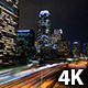 Los Angeles At Night - VideoHive Item for Sale