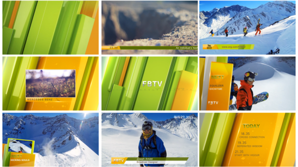 VideoHive Complete Broadcast Package 10286727
