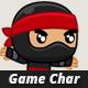 Character Sprites - Ninja - GraphicRiver Item for Sale