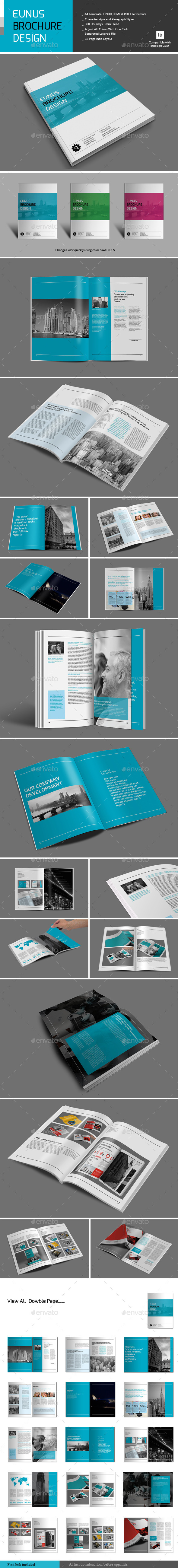 GraphicRiver Eunus Brochure Design 10400027