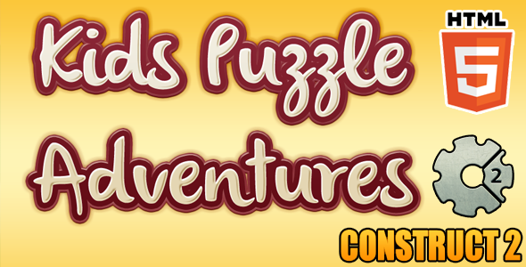 Kids Puzzle Game HTML5 Educational Game