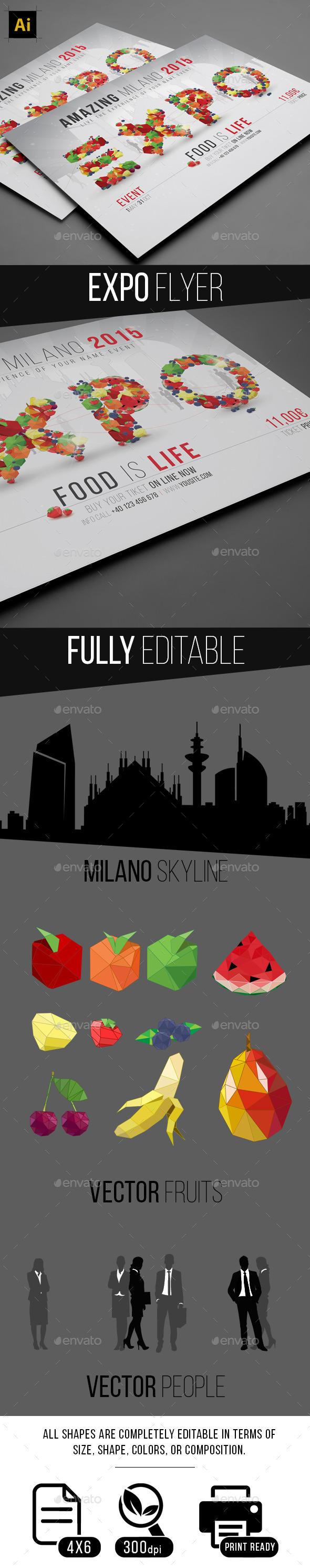 GraphicRiver Expo Flyer 10400141