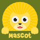 Cute Lion Mascot Creation Kit - GraphicRiver Item for Sale