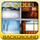 winter backgrounds bundle