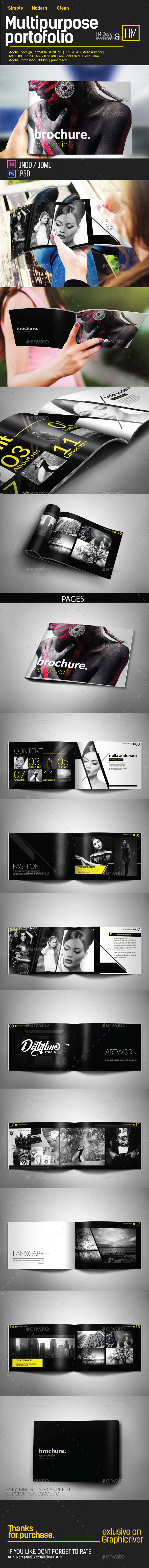 GraphicRiver MODERN BROCHURE CATALOG OR PORTOFOLIO DESIGN 10400957