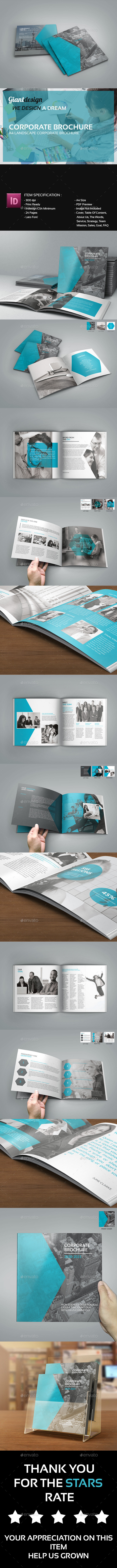 GraphicRiver Corporate Square Brochure 10401388