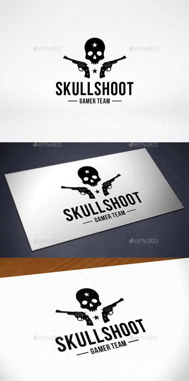 GraphicRiver Skull Game Team Logo Template 10402024