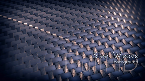 Abstract Steel Weave Surface