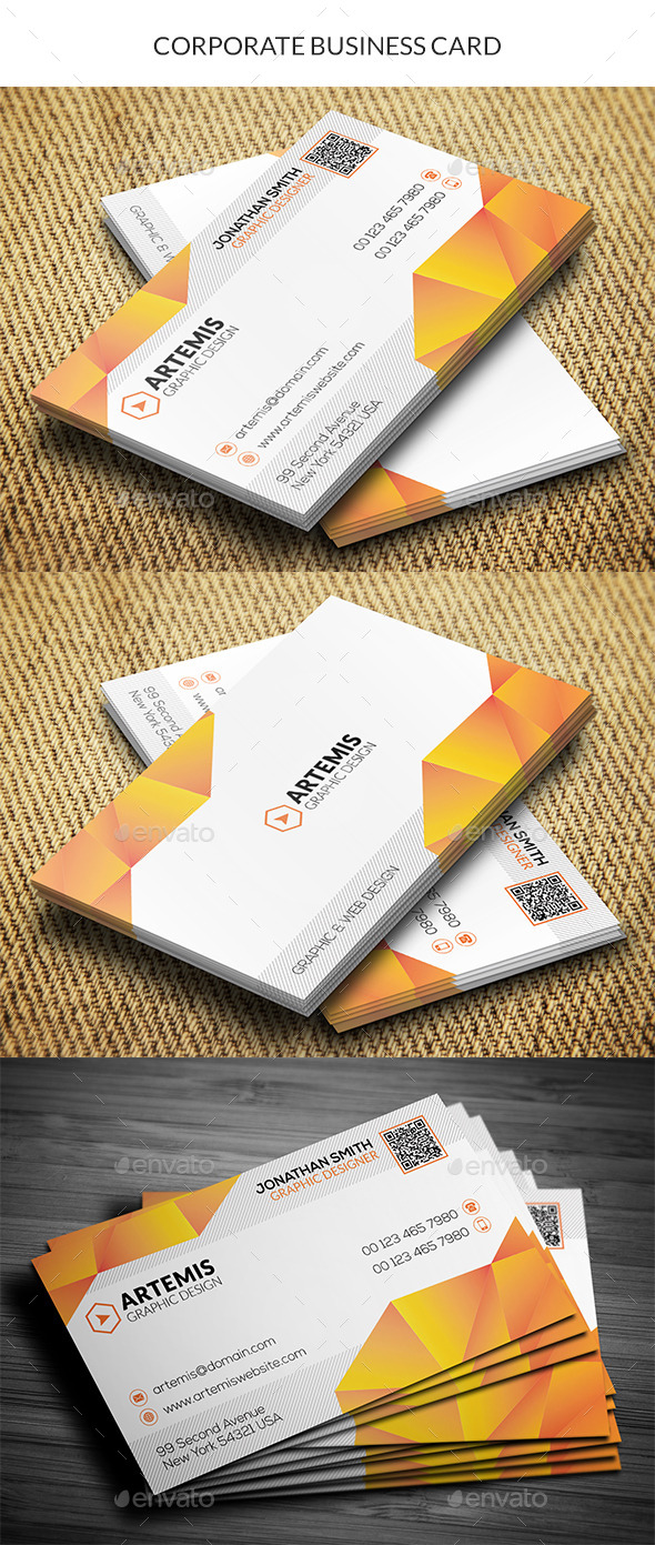 GraphicRiver Pattern Business Card 10403903
