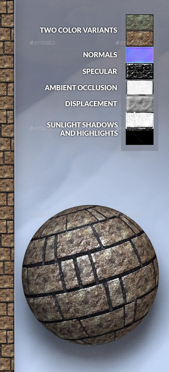 3DOcean Stone Bricks Texture 10403922
