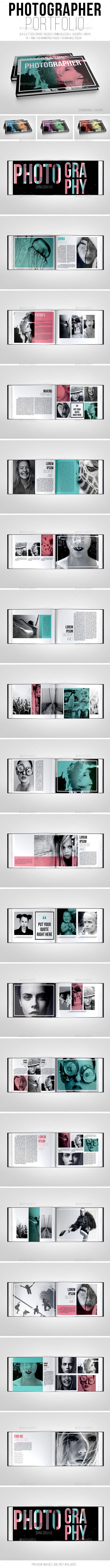 GraphicRiver Photographer Portfolio Brochure 10404395