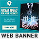 Great Ideas Web Banner Template - GraphicRiver Item for Sale